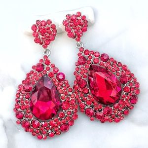 Cherryl's Jewelry - NEW Lrg Austrian Crystal Chandelier Event Earrings
